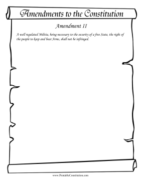 Amendment II Founding Document
