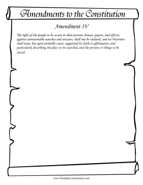Amendment IV Founding Document