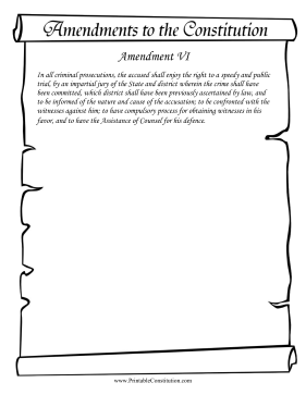 Amendment VI Founding Document
