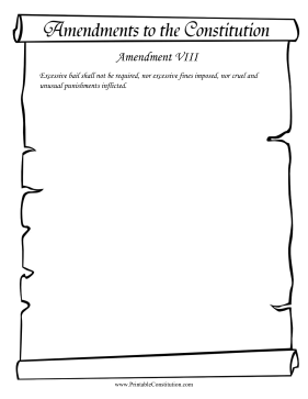 Amendment VIII Founding Document