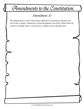 Amendment_XI Founding Document