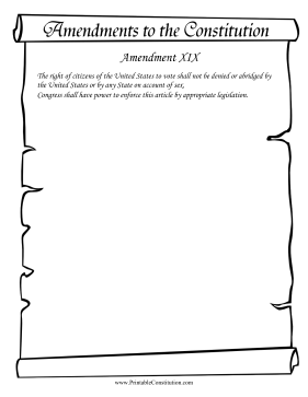 Amendment_XIX Founding Document