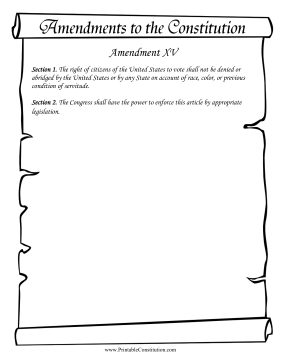 Amendment_XV Founding Document
